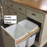 waste basket pullout