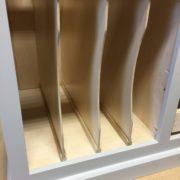 Cookie sheet dividers