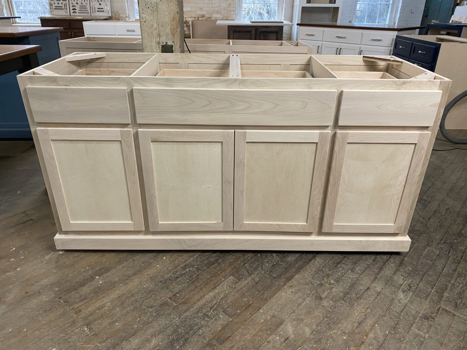 Unfinished Ready to Paint Cabinets