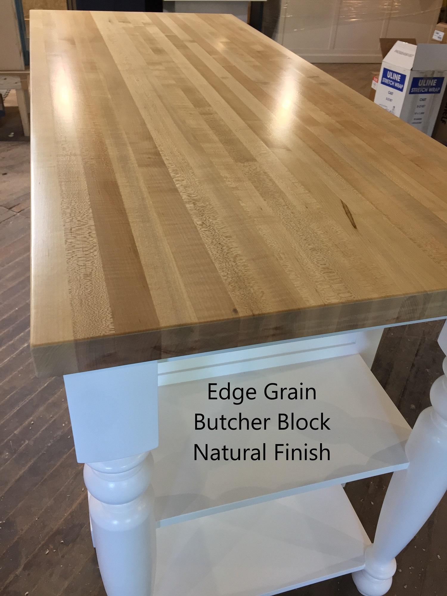 Edge Grain Butcher Block
