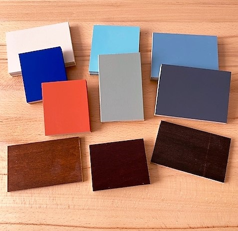Paint & Stain Samples