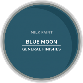 General Finishes Milk Paint Blue Moon